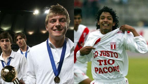 Toni Kroos y Reimond Manco disputaron el Mundial Sub 17 de Corea del Sur el año 2007. El alemán quedó en tercer lugar y recibió el Balón de Oro del torneo. (Foto: FIFA / El Comercio)