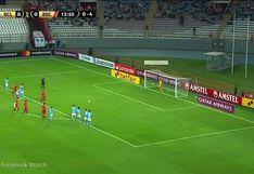 Sporting Cristal vs. Barcelona: Renato Solís se lució con genial atajada en el penal disparado por Jonathan Álvez | VIDEO