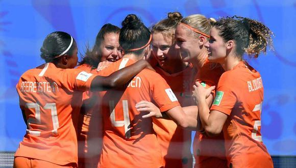 Holanda vs. Suecia se medirán por la semifinal del Mundial Femenino. (Foto: AFP)