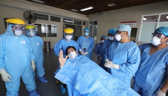 El sacerdote pasó al área de hospitalización del Hospital Edgardo Rebagliati del Seguro Social de Salud. (Foto: EsSalud)