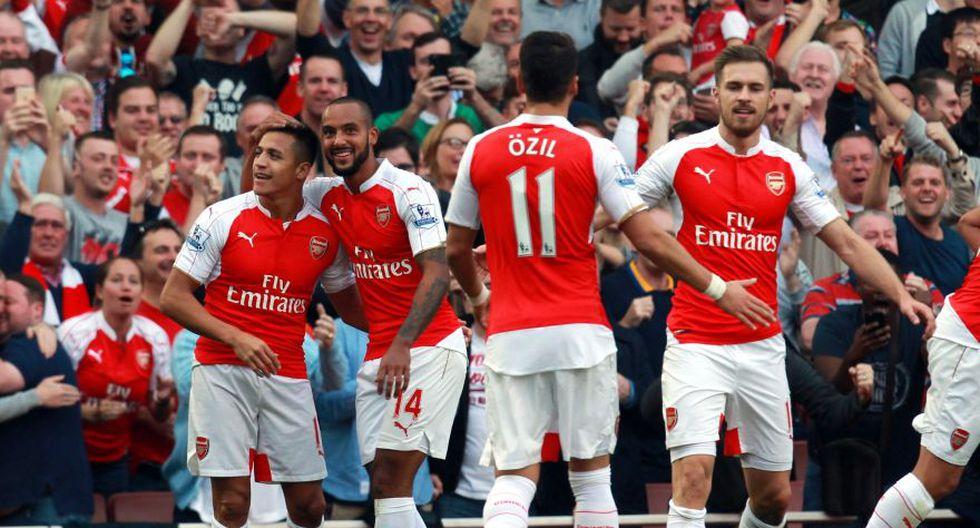 Alexis Sánchez: goles y celebraciones en la victoria de Arsenal - 5