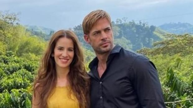 Actress with William Levy.