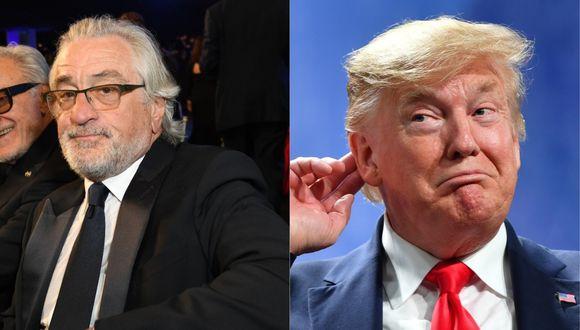 Robert De Niro se refirió a Donald Trump en los SAG Awards. (Foto: AFP)