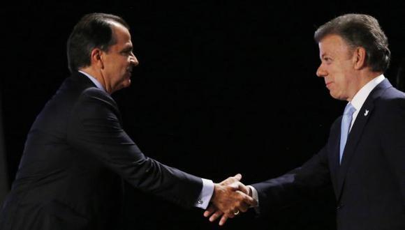 Colombia: El acalorado debate entre Santos y Zuluaga