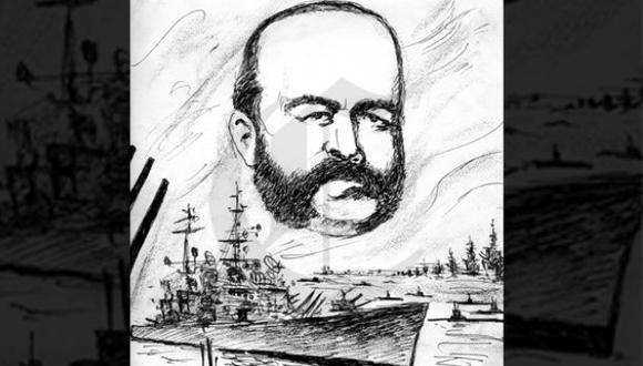 Así ocurrió: En 1879 Miguel Grau entrega su vida por el Perú