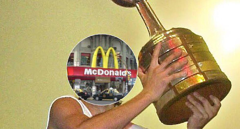 Estos son los mejores memes del McDonald's del Obelisco previos a la final de la Copa Libertadores entre Boca y River. | Instagram