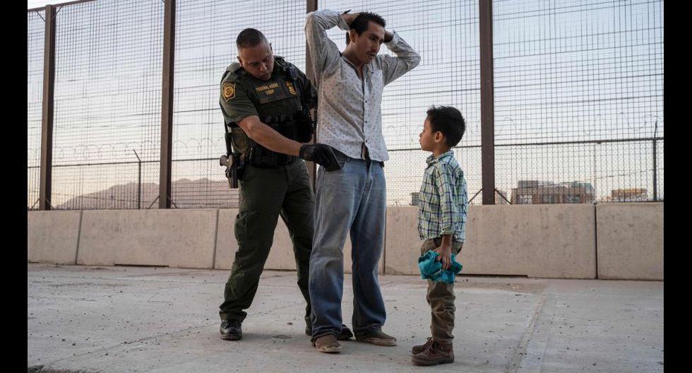 En lo que va del año fiscal, en la frontera entre Estados Unidos y México se han contabilizado en total de 593.507 detenciones. (AFP).