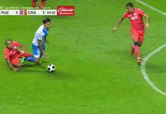 Cruz Azul vs. Puebla: Yoshimar Yotún se barrió por detrás, vio la segunda amarilla y se marchó expulsado   VIDEO