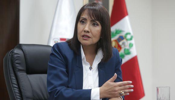 María Jara deberá presentarse el próximo miércoles en la Comisión de Fiscalización. (Foto: GEC)
