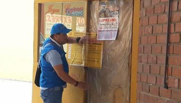 Se dispuso la clausura de los establecimientos y la imposición de las multas correspondientes. (Foto: Fiscalía)