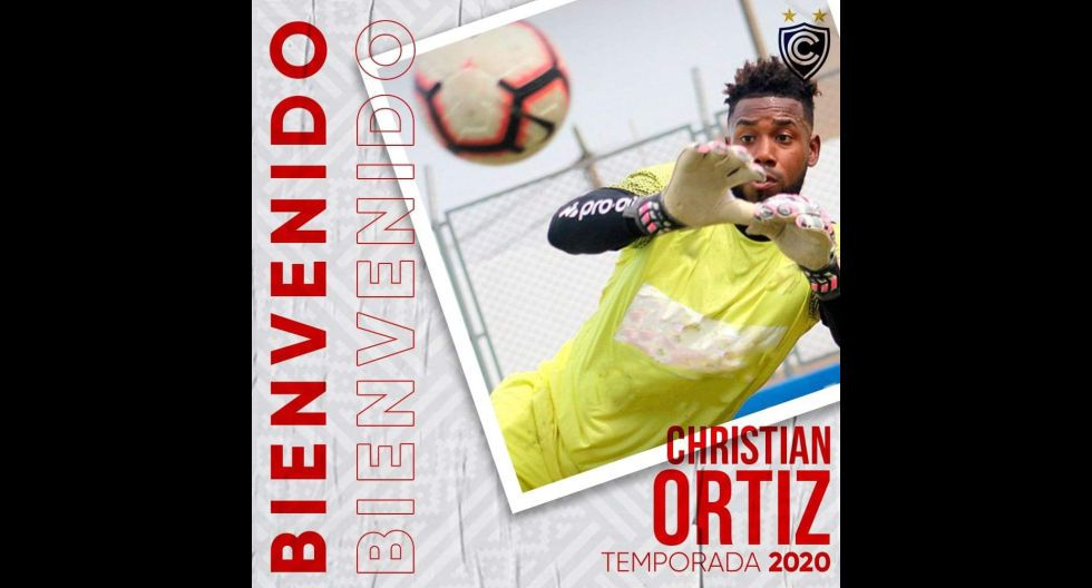 Christian Ortiz procedente de Sport Boys. (Foto: Twitter)