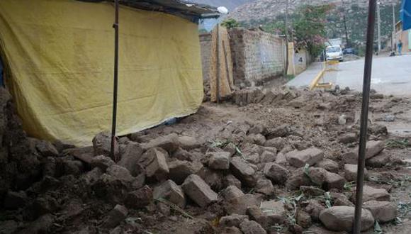 Menor muere a causa de deslizamientos por lluvias en Áncash