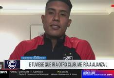 Raziel García expresó su deseo de jugar por Alianza Lima   VIDEO