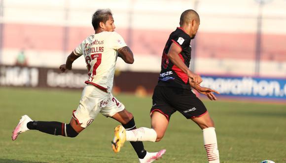 Nelson Cabanillas fue titular en el Universitario vs. UTC. (Foto: Universitario de Deportes)