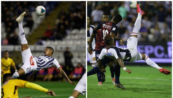 Liga 1 recordó las 'Chalacas' de Quevedo y Arroé con la camiseta de Alianza Lima | Fotos: GEC