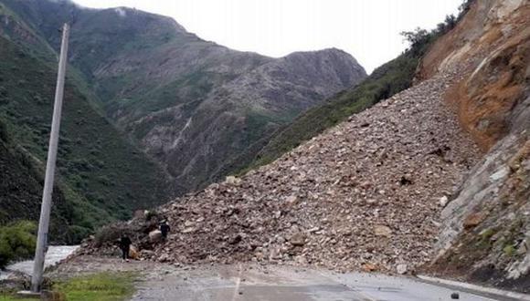 El Centro de Operaciones de Emergencia Regional (COER) Apurímac informó que las autoridades locales y la población realizan trabajos de limpieza en la zona afectada (Foto: Indeci)