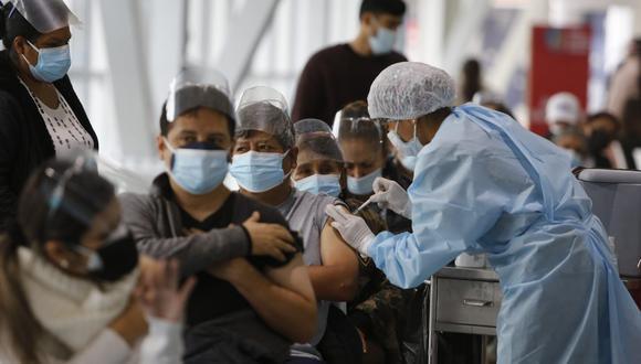 Vacunatón también se llevará a cabo en Junín, Arequipa, Piura y Cajamarca. (Foto GEC)