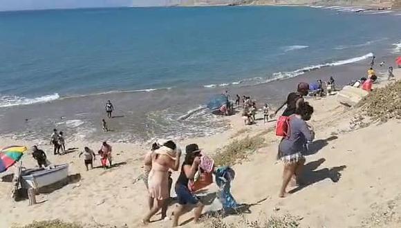 Cabe precisar que el pasado 4 de enero, el Colegio Médico del Perú dijo que Piura, al igual que Lambayeque y Lima ya se encontrarían en una segunda ola de contagios. Foto: Municipalidad de Talara