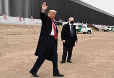 Donald Trump urge a Joe Biden a mantener sus medidas migratorias y el muro con México