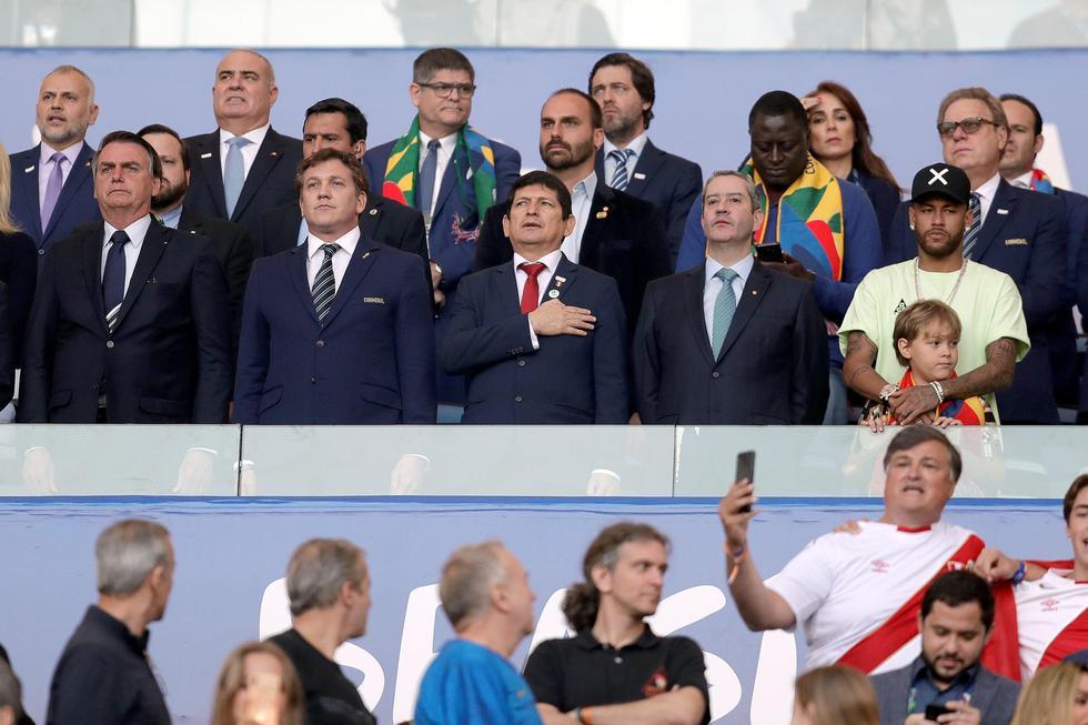 Perú vs. Brasil EN VIVO: Neymar presente en el Maracaná para presenciar la final de Copa América | Foto: AFP