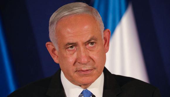 El primer ministro de Israel Benjamin Netanyahu. (ABIR SULTAN / POOL / AFP).