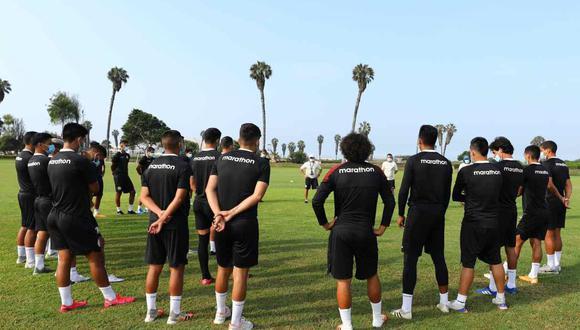 Universitario tenía programado enfrentar a UTC este sábado por la fecha 3 del grupo A de la Fase 1 de la Liga 1.  El encuentro fue postergado por la Liga de Fútbol Profesional. (Foto: @Universitario)