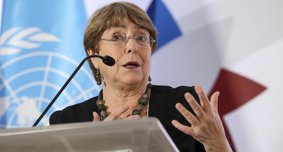 La Alta Comisionada de las Naciones Unidas para los Derechos Humanos, Michelle Bachelet, se expresó tras las violentas protestas por la muerte de George Floyd en Estados Unidos. (John DURAN / AFP).