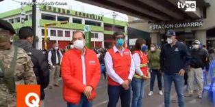 Coronavirus en Perú: realizan pruebas de descarte en estaciones del Metropolitano y Línea 1