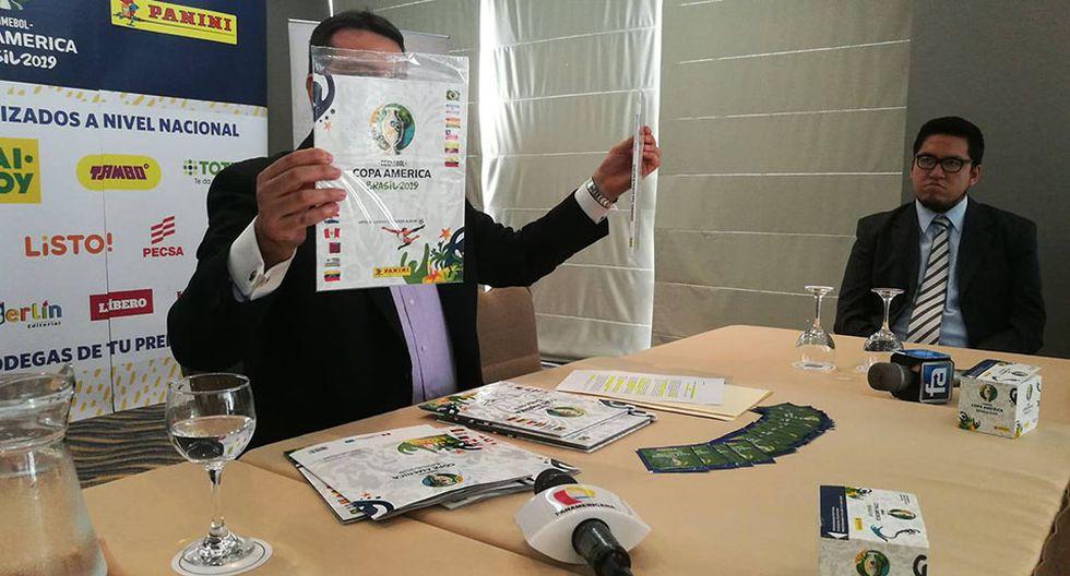 Panini presentó el álbum oficial de la Copa América Brasil 2019. (Foto: Iván Huerta/GEC)