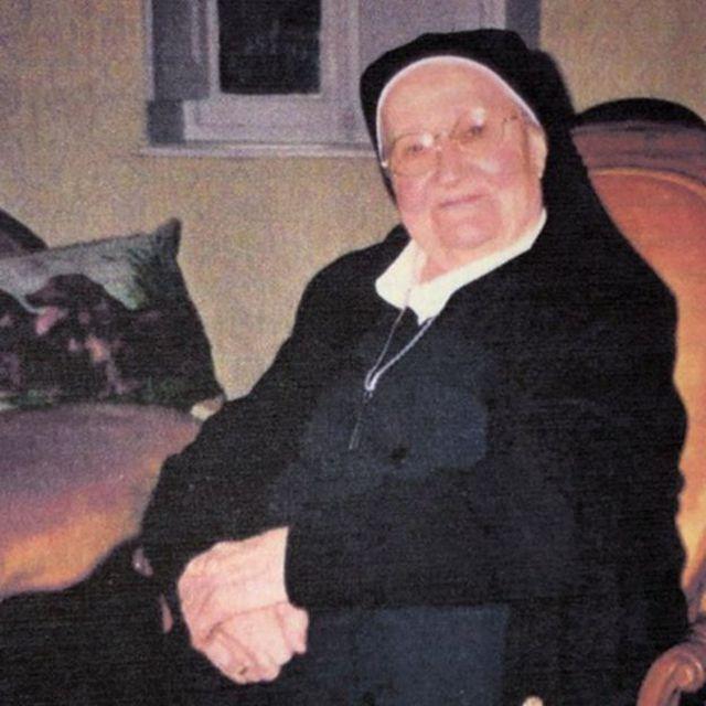 La hermana Betgon continuó realizando labores humanitarias durante el resto de su vida. (Foto: BBC Mundo).