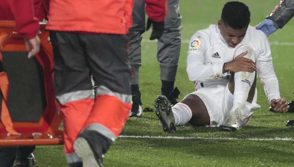 Rodrygo Goes sufrió una lesión muscular y será baja en Real Madrid. (Foto: AP)
