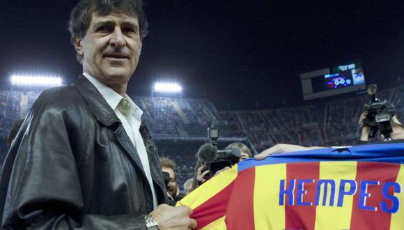 Mario Alberto Kempes, ex jugador del Valencia. (Foto: EFE)