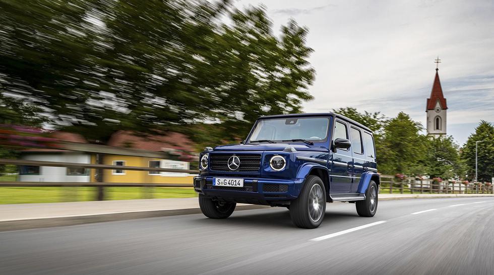 El nuevo Mercedes-Benz Clase G 'Stronger Than Time' estará disponible en motorizaciones que van desde los 300 hasta los 585 caballos de potencia. (Fotos: Mercedes).