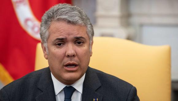 Iván Duque tuvo contacto con un alcalde que estuvo en Marruecos y regreso a Colombia el 1 de marzo, previa escala en España. (AFP).