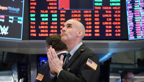 Una caída del S&P 500 al mediodía fue tan pronunciada que la sesión se detuvo unos 15 minutos. (Foto: AFP)