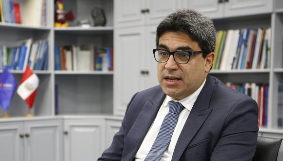 Martín Benavides, ministro de Educación. (Foto: Manuel Melgar | GEC)