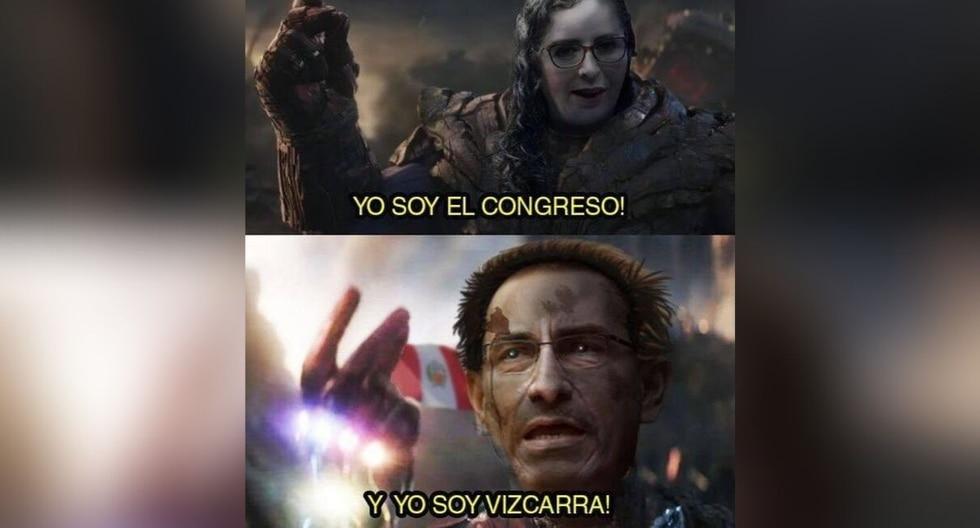El presidente Martín Vizcarra anunció la disolución del Congreso y los memes no se hicieron esperar. (Foto: Facebook/Twitter)