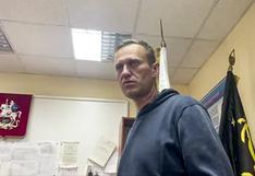 Tribunal ruso ordena la encarcelación de Navalny hasta el 15 de febrero