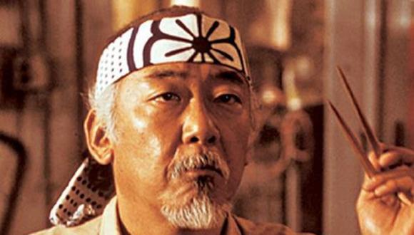 En toda la historia, el Sr. Miyagi tuvo en total tres estudiantes de karate (Foto: Sony Pictures Home Entertainment)