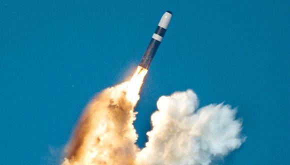 La nueva ojiva W76-2 equipará a los misiles Trident (en la imagen) de los submarinos estadounidenses.