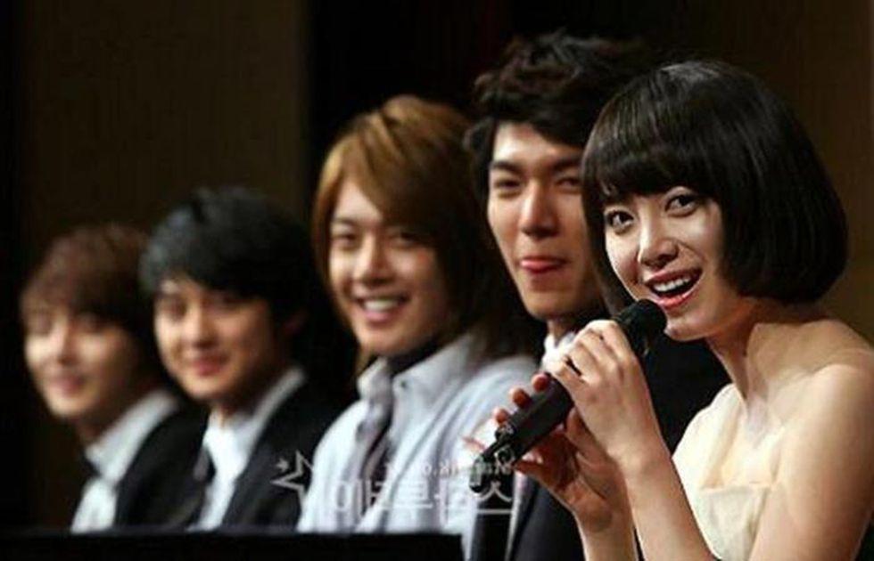 Goo hye sun lee min ho ho 2013