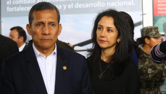 Ollanta Humala y Nadine Heredia no tienen la obligación de estar presentes en la audiencia en la que se verá el pedido de prisión preventiva para ellos. (Foto: El Comercio)