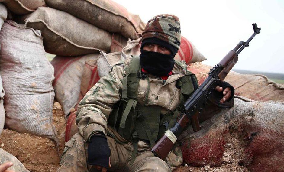 60 muertos en dos días: Las víctimas de los ataques en Siria desde caída del Estado Islámico. (AFP)