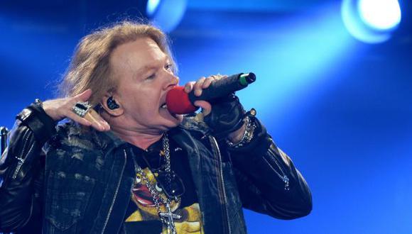 Axl Rose cantará en 10 shows de AC/DC en Estados Unidos