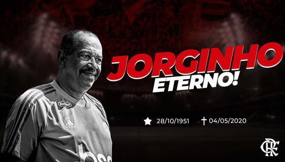 Muere por coronavirus Jorginho, masajista del Flamengo desde hace 40 años. (Foto: @Flamengo)