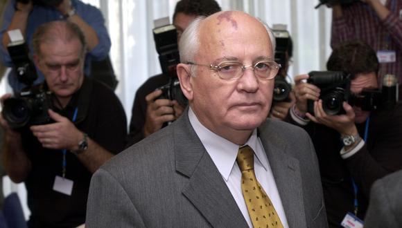 """Luego del mala información, el representante de Gorbachov explicó que el expresidente había """"pasado la tarde del jueves trabajando y se sentía bien"""". (Foto: EFE)"""