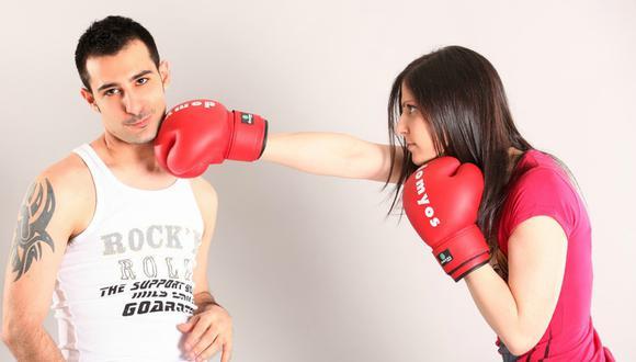 Una joven noqueó a su pareja durante un entrenamiento de box y se volvió viral. (Foto: Referencial/Pixabay)