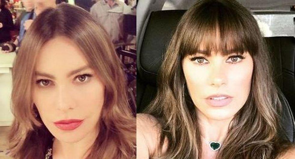 Sofía Vergara compartió foto del recuerdo en Instagram, red social en la que tiene 14.8 millones de seguidores.