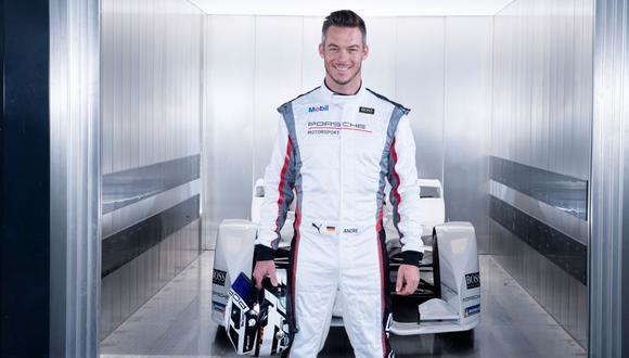 RAÍCES. André Lotterer, de padre peruano, forma parte del equipo TAG Heuer Porsche de Fórmula E. Compite en el torneo desde el año 2017, tras haber ganado tres veces las 24 Horas de Le Mans. (Foto: TAG HEUER PORSCHE)