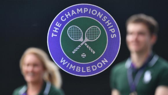 Wimbledon 2020 no se jugará a causa de la pandemia por el coronavirus. (Foto. Daniel LEAL-OLIVAS / AFP)